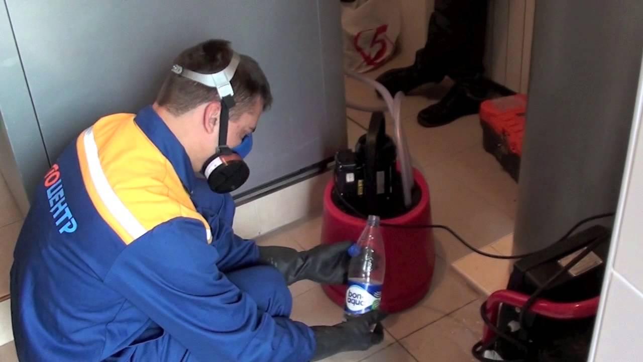 как промыть теплообменник котла