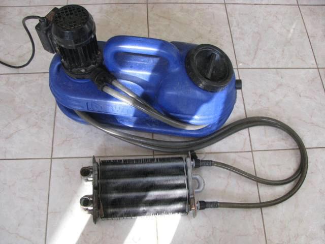 Чем почистить теплообменник газового котла