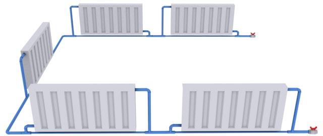 Ленинградка система отопления