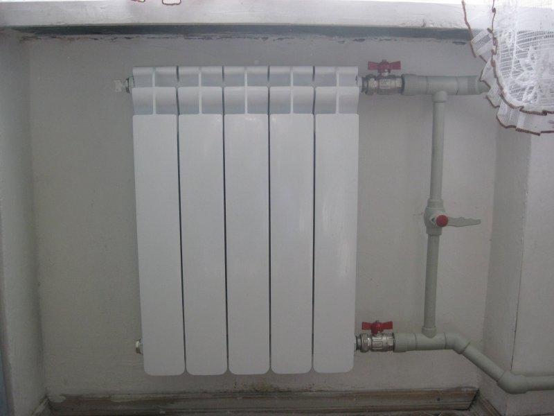 Монтаж радиатора отопления своими руками фото